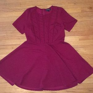 Fuschia Short Sleeve F21 Dress